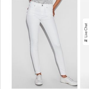 NWT Express White Jean Legging - 6 Long